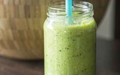 Fit n Healthy Green Smoothie Recipe – helps to lose weight and detox