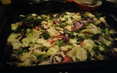 Easy Oven Baked Mixed Fall Veggies
