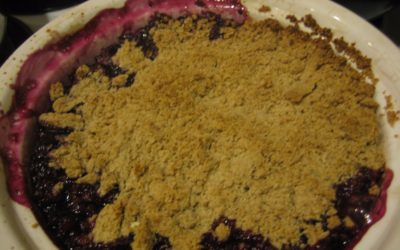 EASY BLUEBERRY CRUMBLE